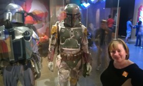Jeannine with Boba Fett at EMP