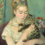 Renoir's Woman with a Cat