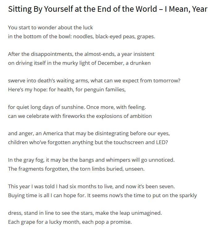 live in the sunshine poem