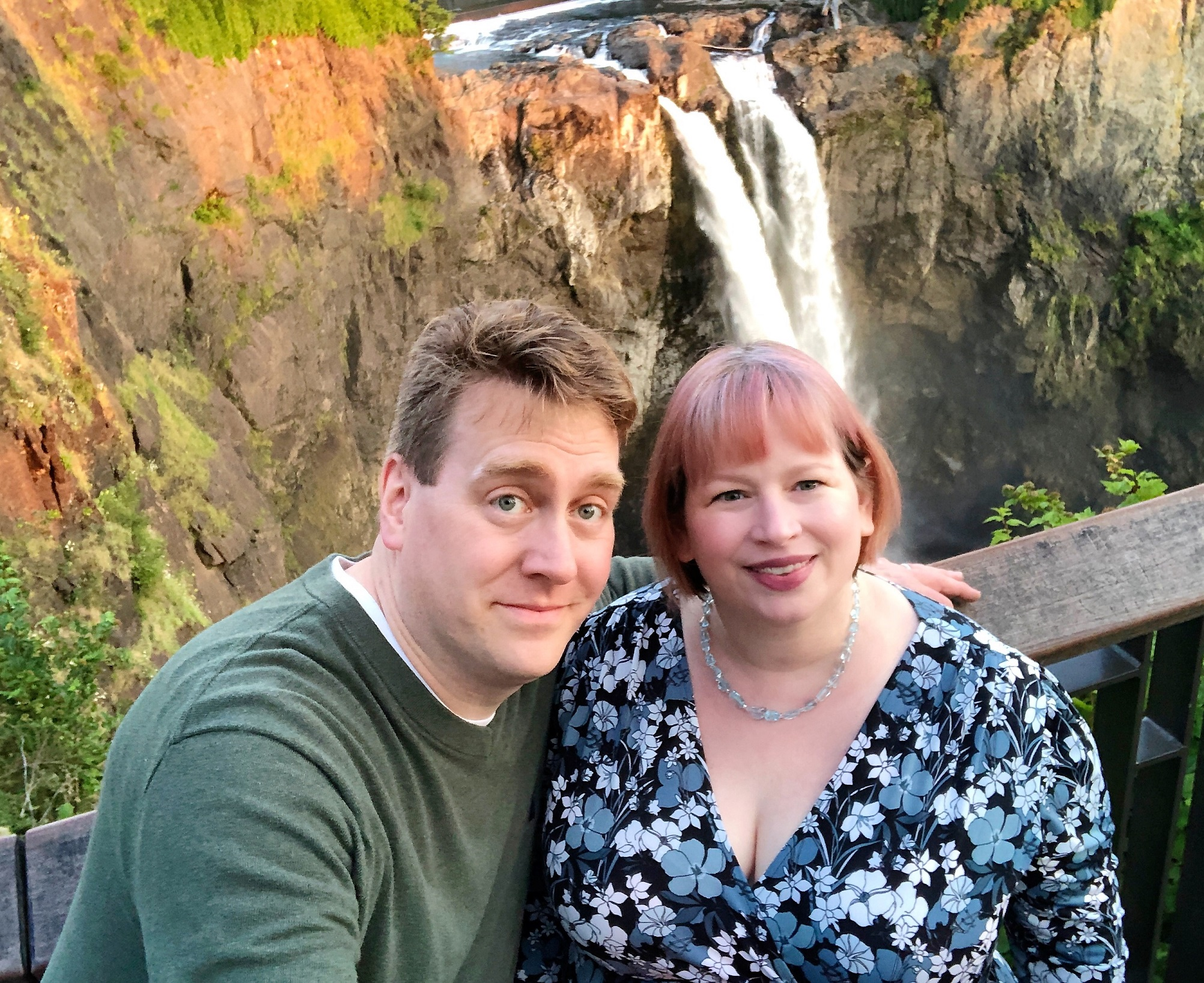 A 25th Anniversary with Waterfalls and Mountains and How MS Can